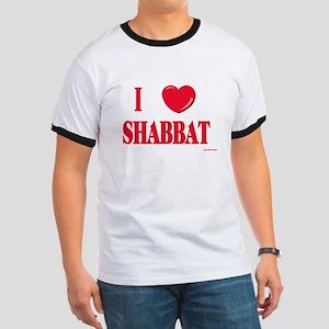 I Love Shabbat Ringer T