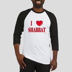 I Love Shabbat Baseball Jersey