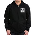 Collie Rescue Foundation Zip Hoodie