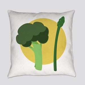 Broccoli Asparagus Everyday Pillow