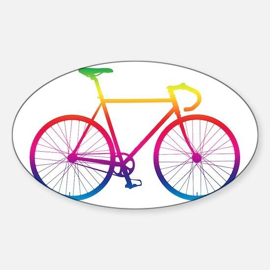 Road Bike - Rainbow Decal