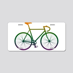 Road Bike - Gradient Aluminum License Plate