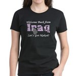 Welcome Back Let's Get Naked Women's Dark T-Shirt