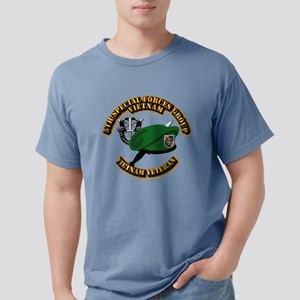T-Shirt - SOF - 5th SFG VN - Beret Dagger DUI - V