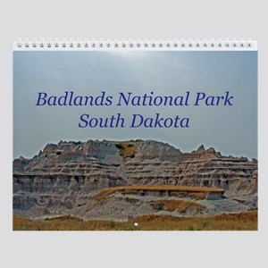Badlands National Park Wall Calendar