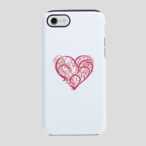 Romantic Heart iPhone 8/7 Tough Case
