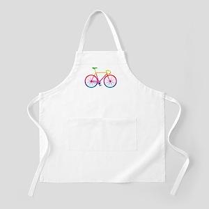 Road Bike - Rainbow Apron