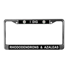A R S Logo License Plate Frame
