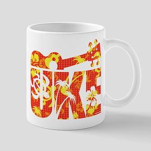 Uke Hawaii Pattern Mugs