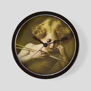 Cupid Asleep Wall Clock