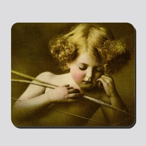 Cupid Asleep Mousepad