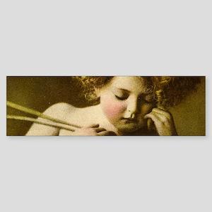 Cupid Asleep Bumper Sticker