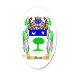 Mazot Oval Car Magnet