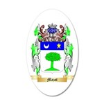 Mazot 20x12 Oval Wall Decal