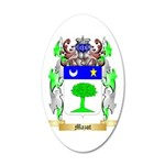 Mazot 35x21 Oval Wall Decal