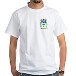 Mazin White T-Shirt