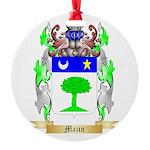 Mazin Round Ornament