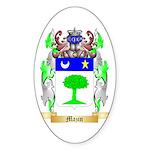 Mazin Sticker (Oval)