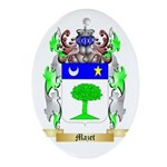 Mazet Oval Ornament