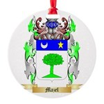 Mazel Round Ornament