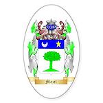 Mazel Sticker (Oval)