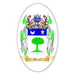 Mazel Sticker (Oval 10 pk)