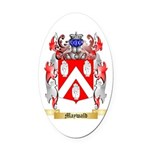 Maywald Oval Car Magnet