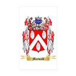 Maywald Sticker (Rectangle 50 pk)
