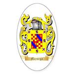 Mayorga Sticker (Oval)