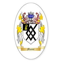 Mayor Sticker (Oval 50 pk)