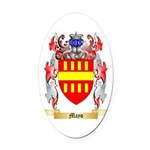 Mayo Oval Car Magnet