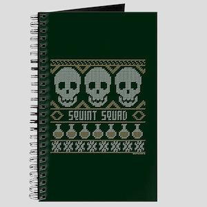 bones ugly christmas Journal