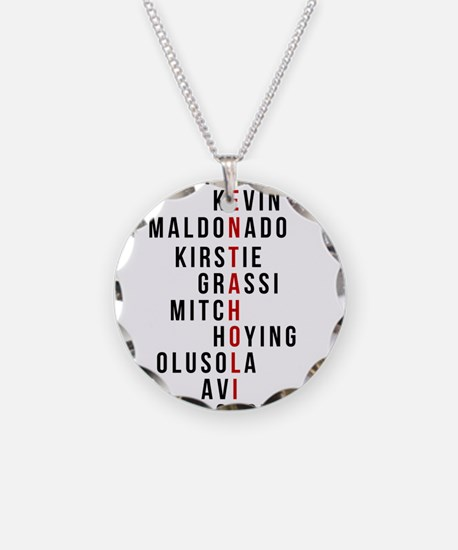 Funny Fandom Necklace Circle Charm