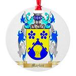 Maykin Round Ornament