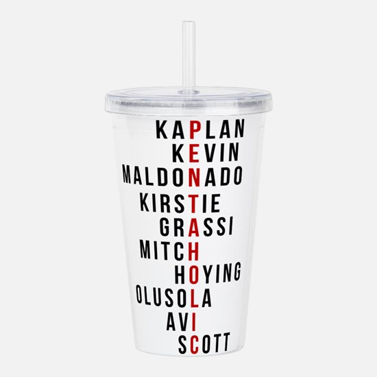 Cute Graphic Acrylic Double-wall Tumbler