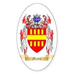 Mayes Sticker (Oval 10 pk)