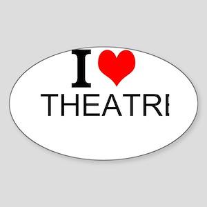 I Love Theatre Sticker