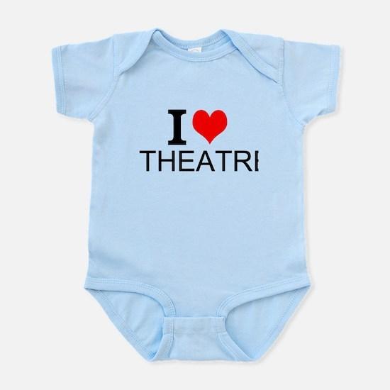 I Love Theatre Body Suit