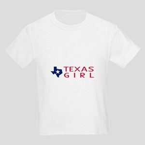 Texas Girl Kids Light T-Shirt