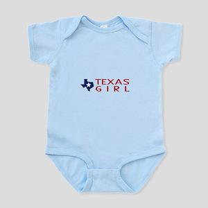 Texas Girl Baby Light Bodysuit