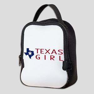 Texas Girl Neoprene Lunch Bag