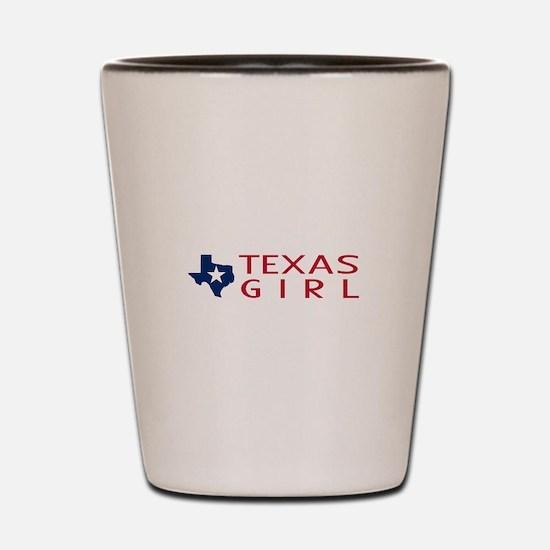 Texas Girl Shot Glass
