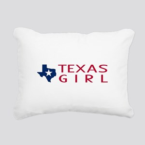 Texas Girl Rectangular Canvas Pillow