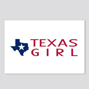 Texas Girl Postcards (Package of 8)