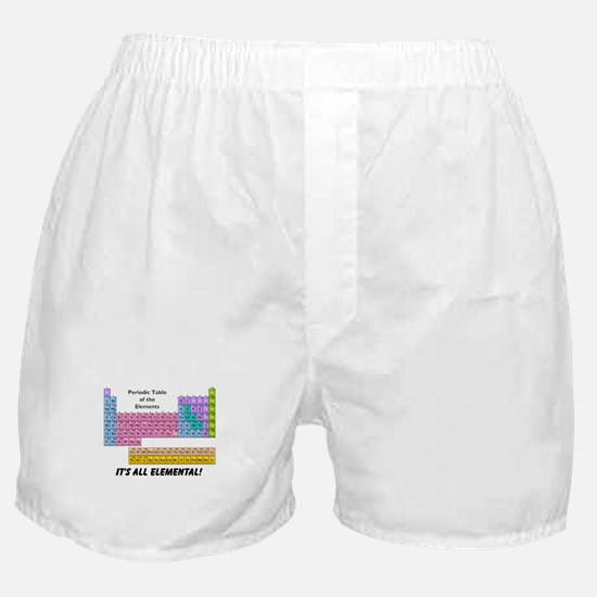 It's All Elemental Boxer Shorts