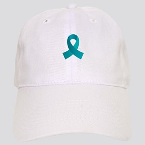 Teal Awareness Ribbon Cap