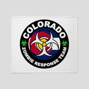 Colorado ZRT White Throw Blanket