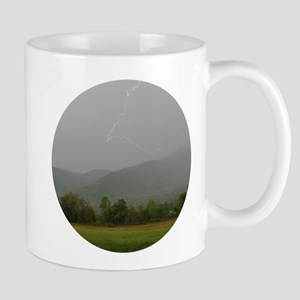 Lightning in Cades Cove Mugs