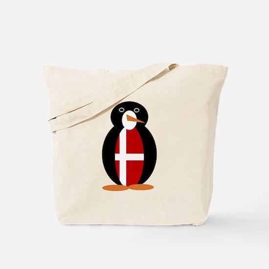 Penguin of Denmark Tote Bag