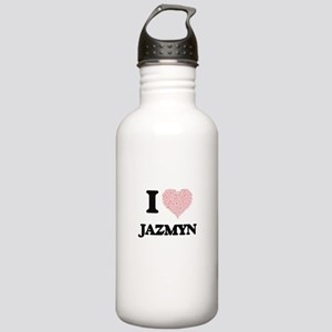 I love Jazmyn (heart m Stainless Water Bottle 1.0L